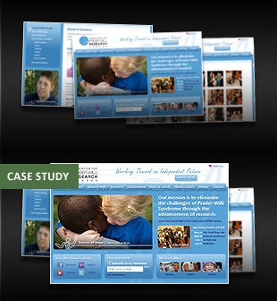 Latest Karmatize Work - Foundation for Prader-Willi Research Canada